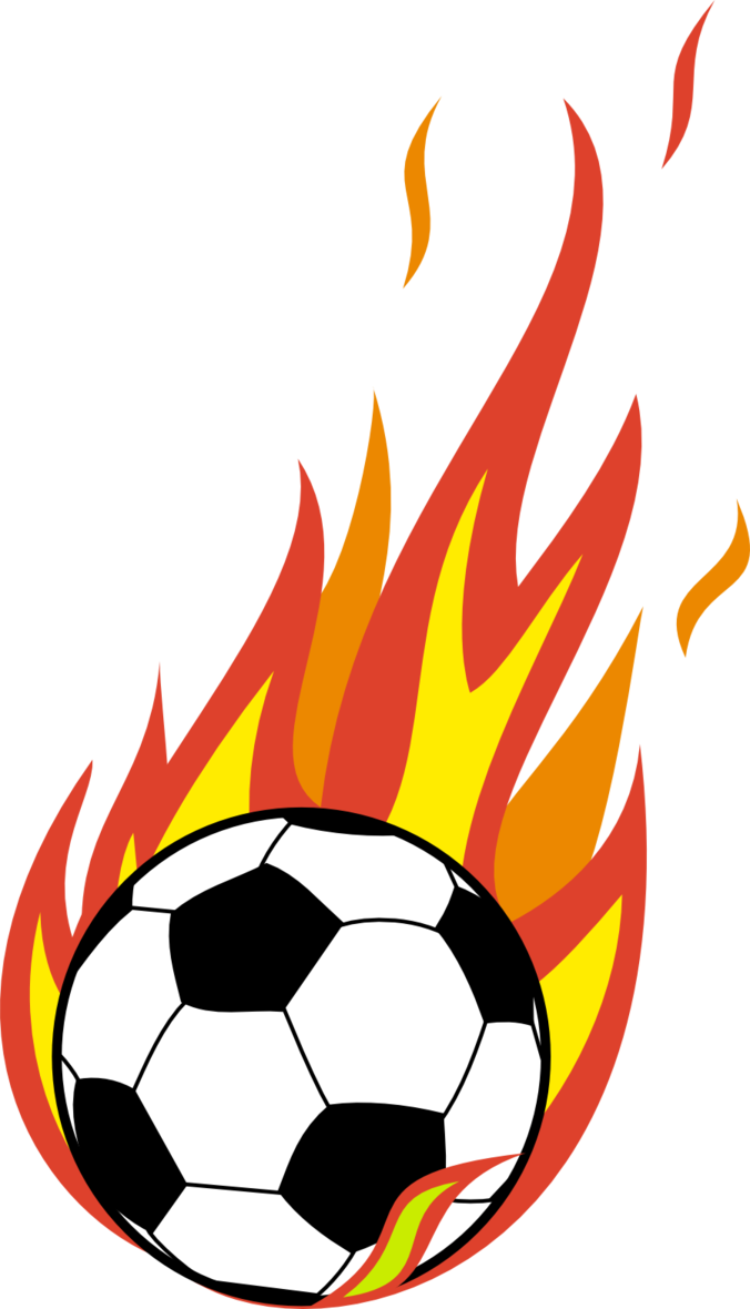Flaming Soccer Ball Png image #26377
