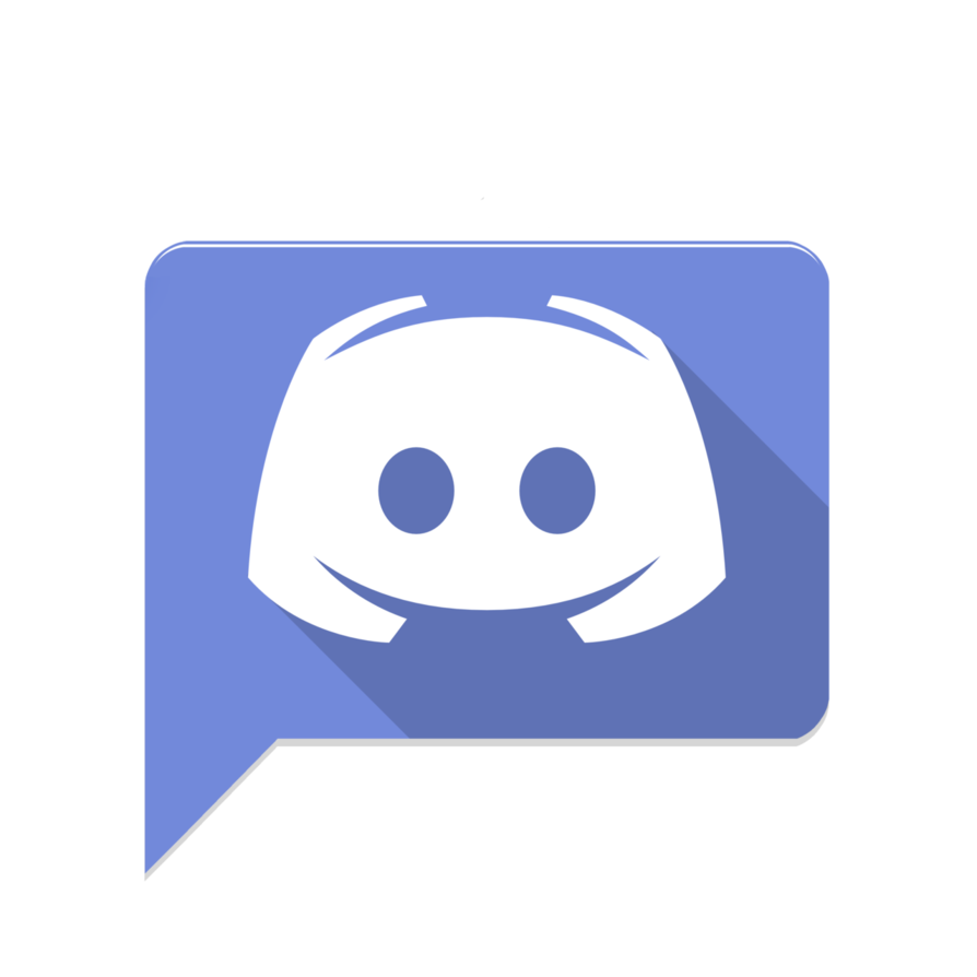 Flat discord material like icon