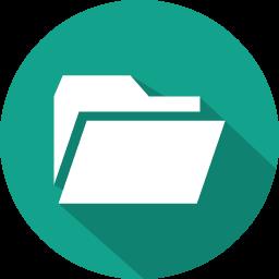 flat folders icon