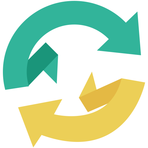 Flat Refresh Icon Png image #40262