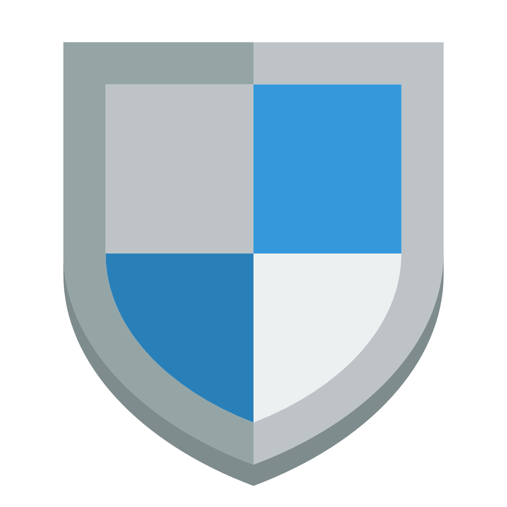 flat shield icon