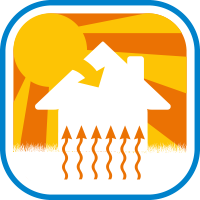 Floor Heating Save Icon Format