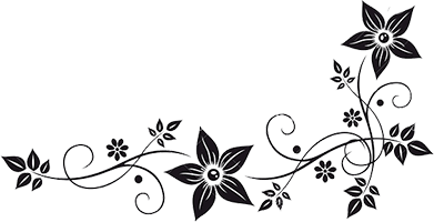 Flower Vector Black And White Png #41813 - Free Icons and ...