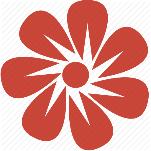 Icon Flowers Vector image #2131