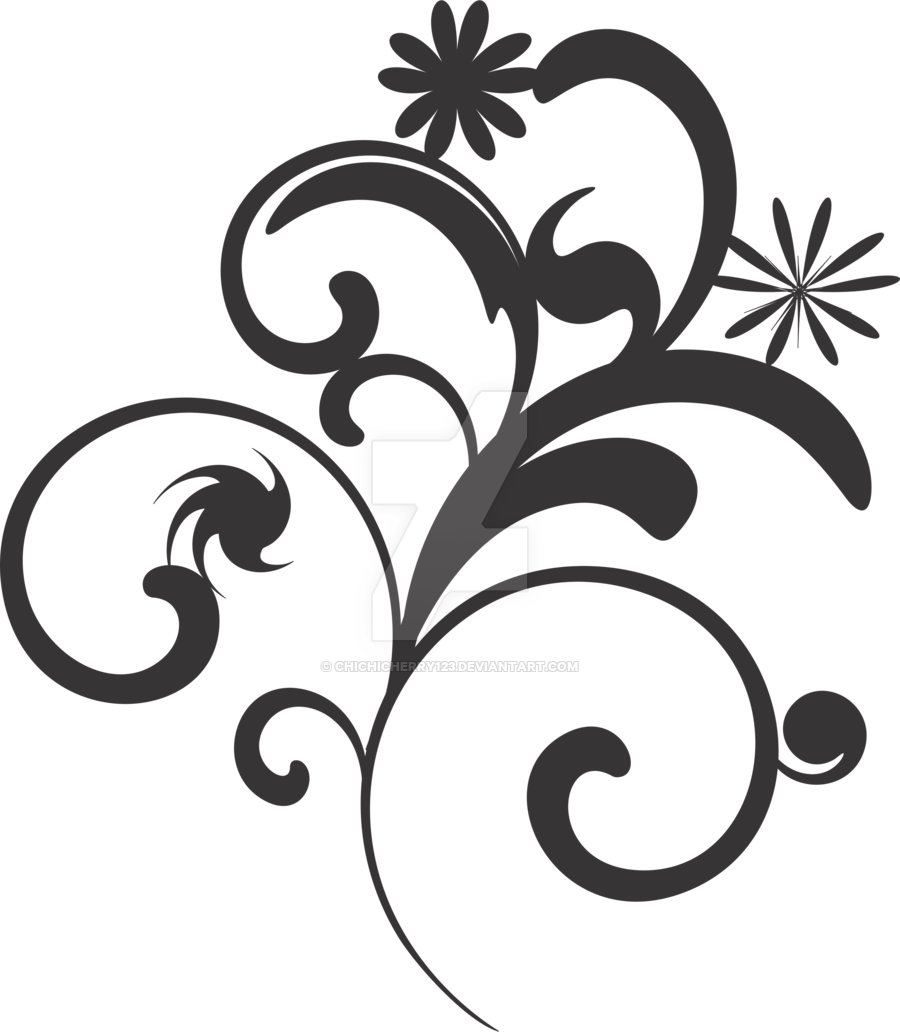 Flower Black And White Transparent PNG Pictures
