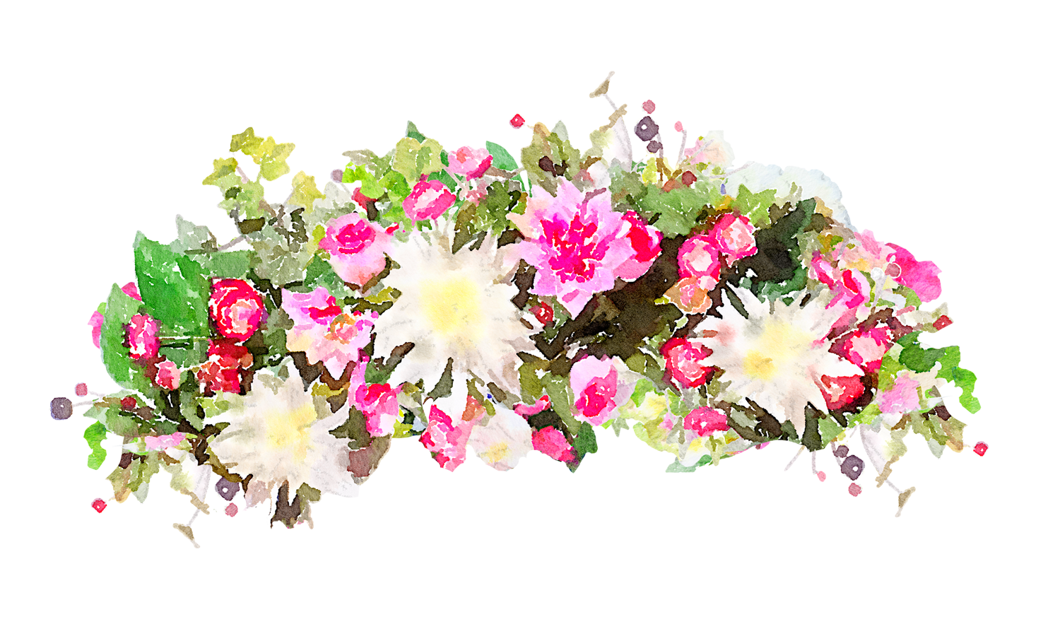Flower Watercolor Transparent PNG image #46963