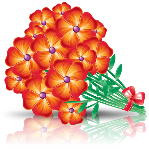 Flowers Bouquet Icon Png image #26661