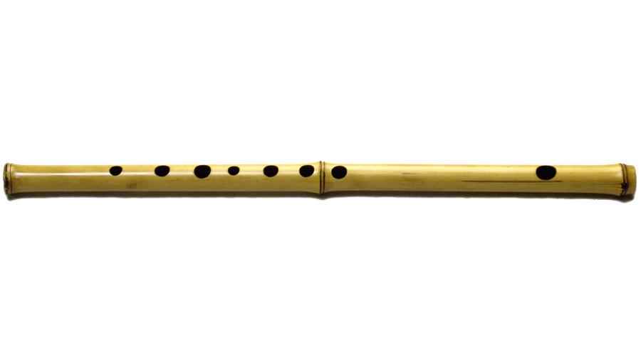 flute design bamboo tree