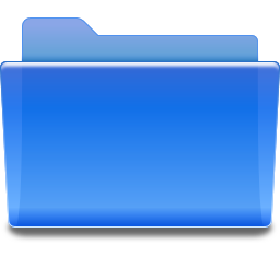 Folder Blue Icon image #13462