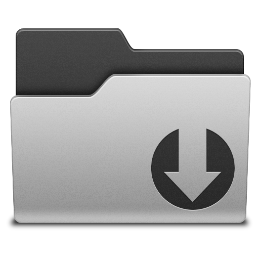 folder downloading icon png