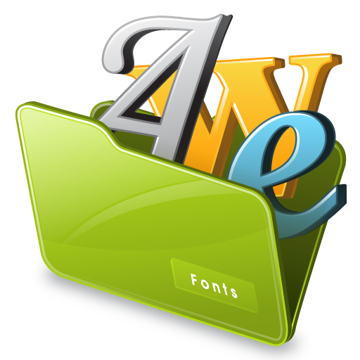 Font Icon Drawing