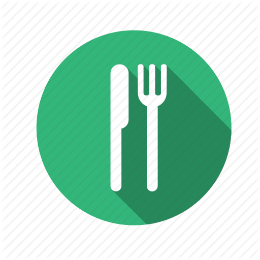Food, Fork, Knife, Lunch, Restaurant Icon  image #4895