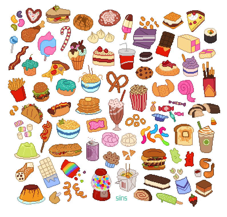 Clipart Food Collection Png