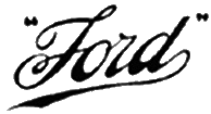 Ford Logo 1909 Png image #14219