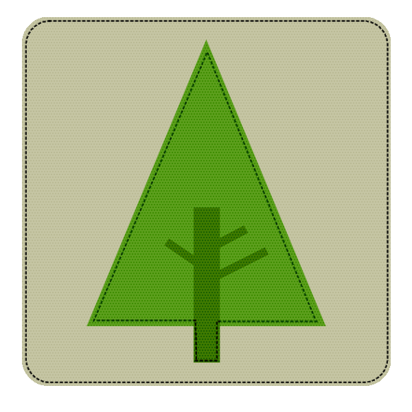 Forest Icon Drawing image #7082