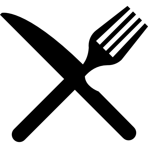 Fork And Knife In Cross image #3680