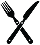 Fork Knife Cross image #3675