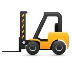 Forklift Delivery Icon image #33836