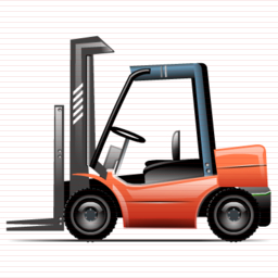 Drawing Vector Forklift image #33844