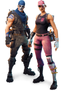 Fortnite Soldier Character Png image #47396