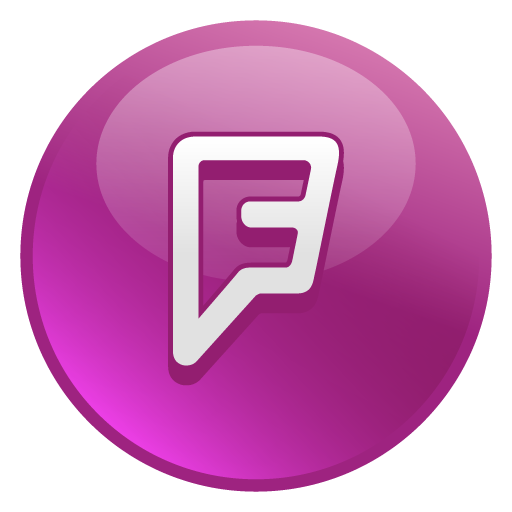 Foursquare Vector Drawing