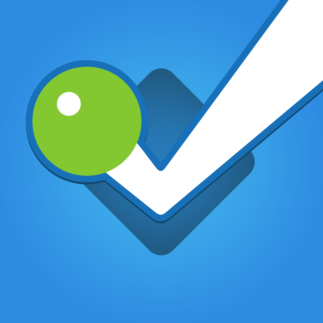 Foursquare Simple Png 1280x1280, Foursquare HD PNG Download