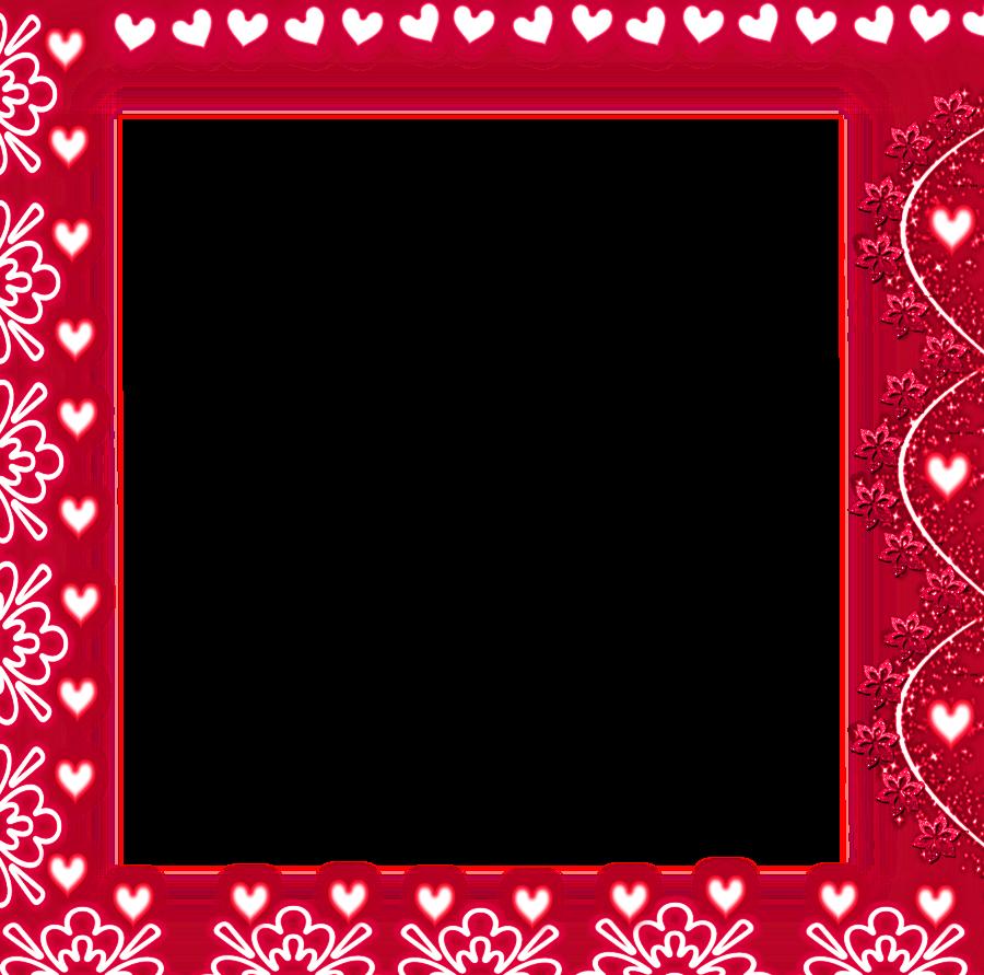 frame border heart png image image 30999