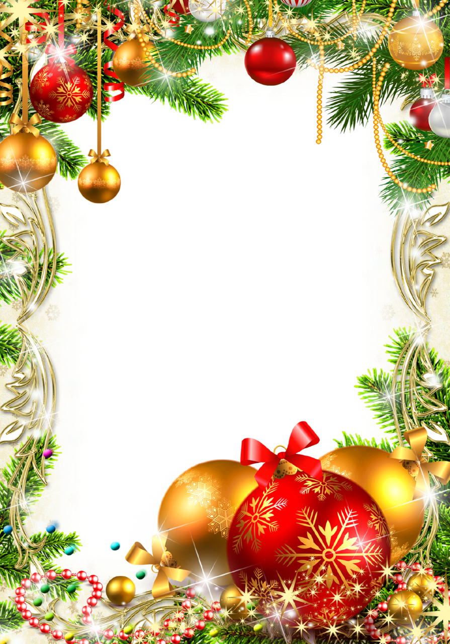 Png Christmas Decorations.Frame Christmas Decorations And For Celebrations 47083