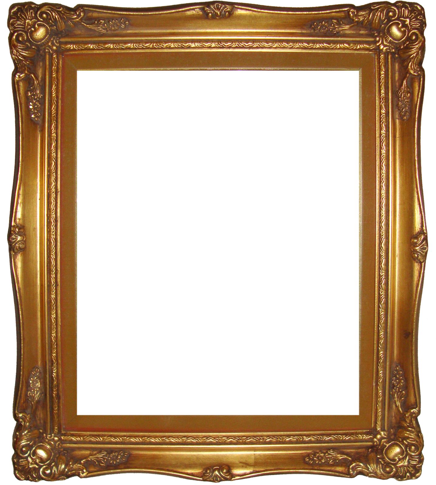 PNG Photo Frame Gold
