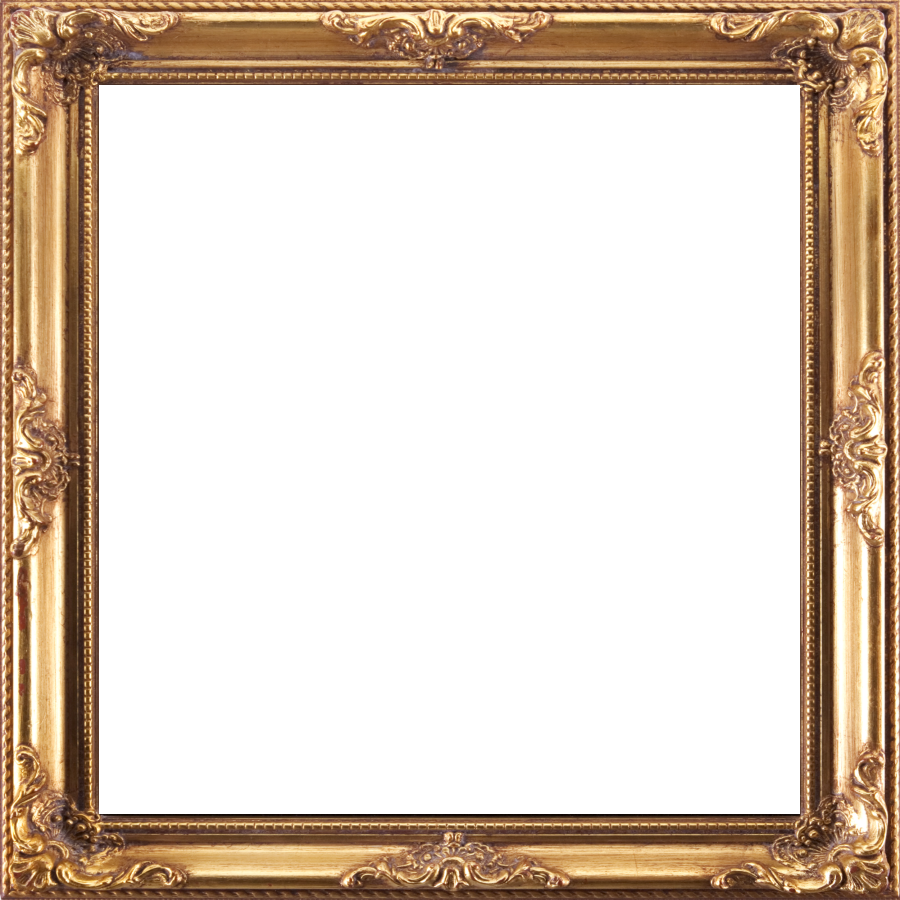 Frame Gold Download High quality Png