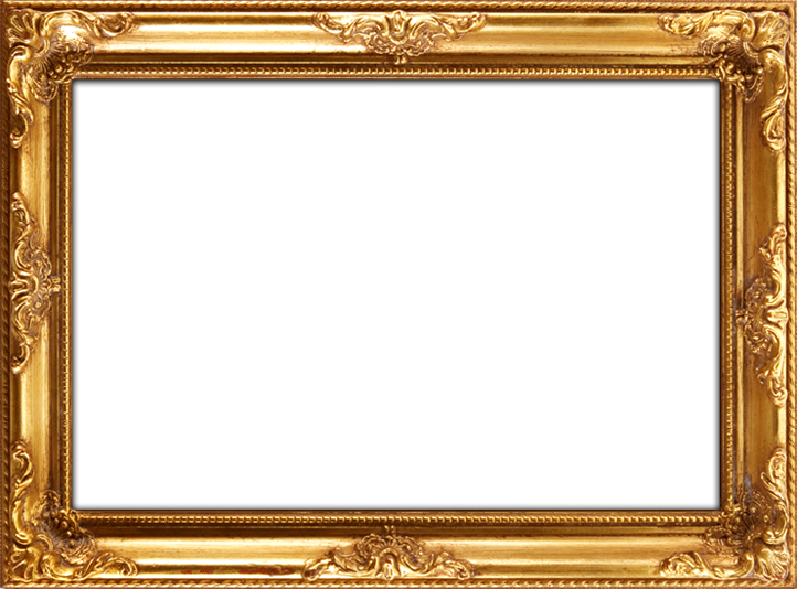 Frame Gold Background