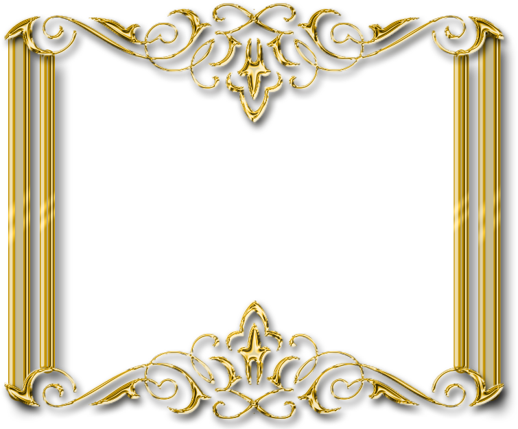 Download For Free Frame Gold Png In High Resolution