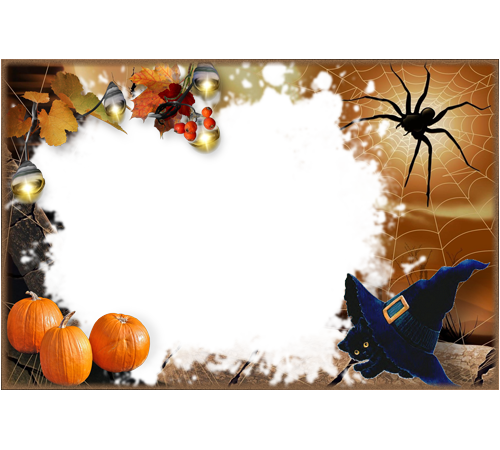 Background Transparent Frame Halloween image #31325