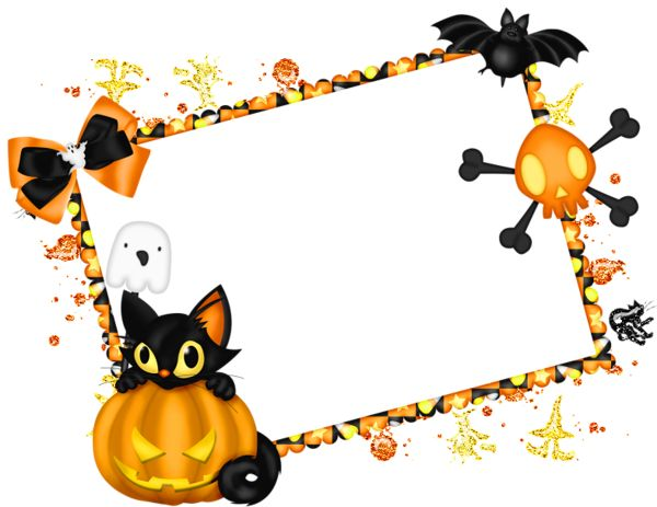 Image Png Collections Best Frame Halloween image #31329