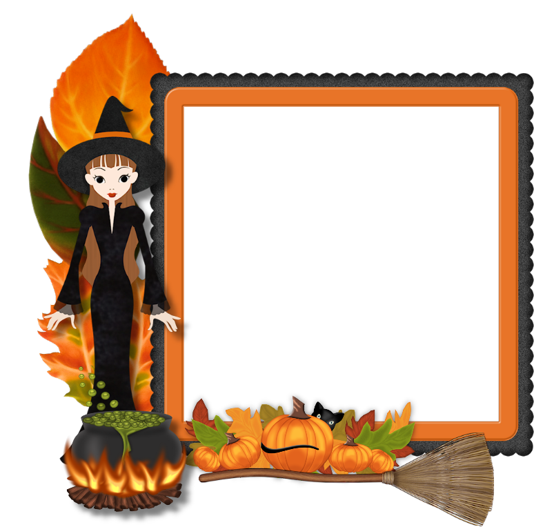 Best Free Frame Halloween Png Image image #31331