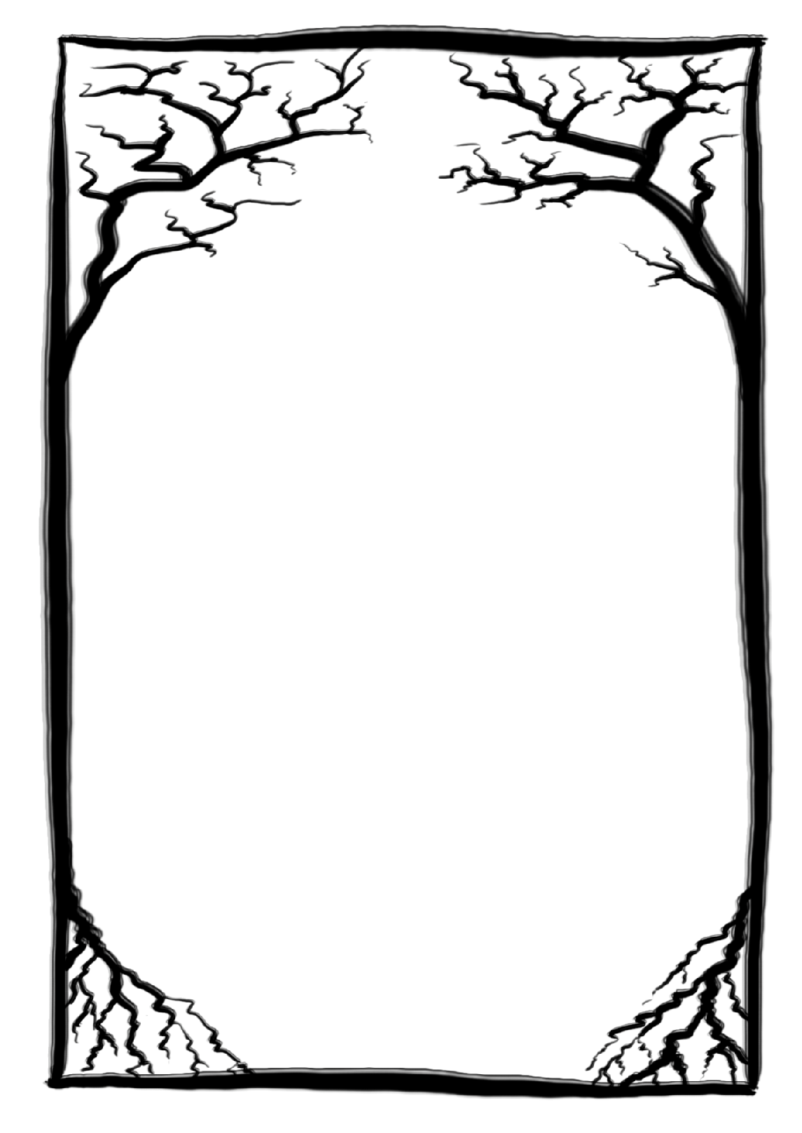 Vector Frame Halloween Png image #31332