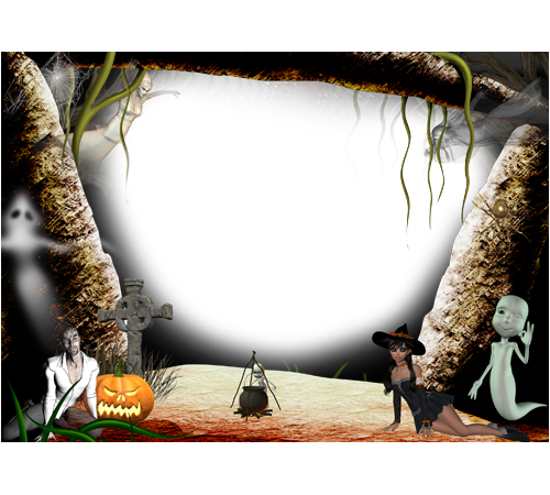 Get Frame Halloween Png Pictures image #31317