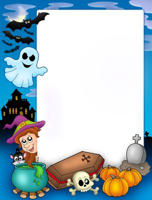 Frame Halloween Png Download Clipart image #31335