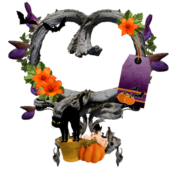 Download Free High-quality Frame Halloween Png Transparent Images image #31337