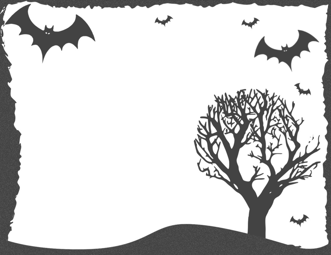 Frame Halloween PNG Clipart image #31342