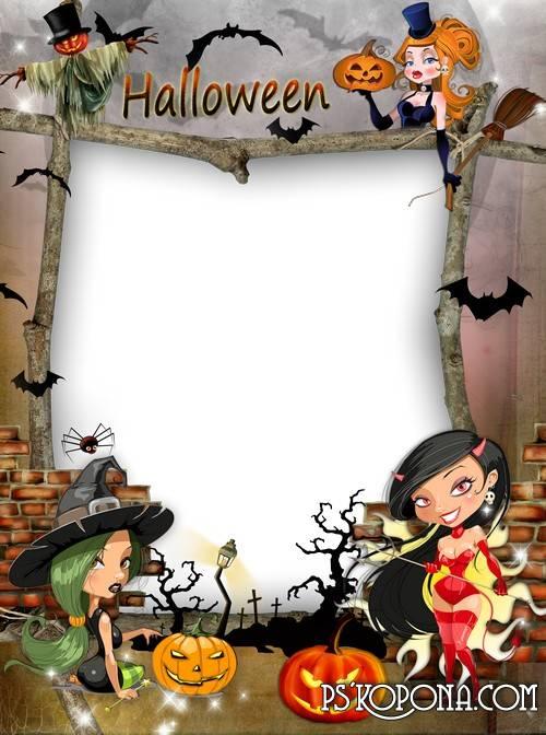 Frame Halloween Image PNG