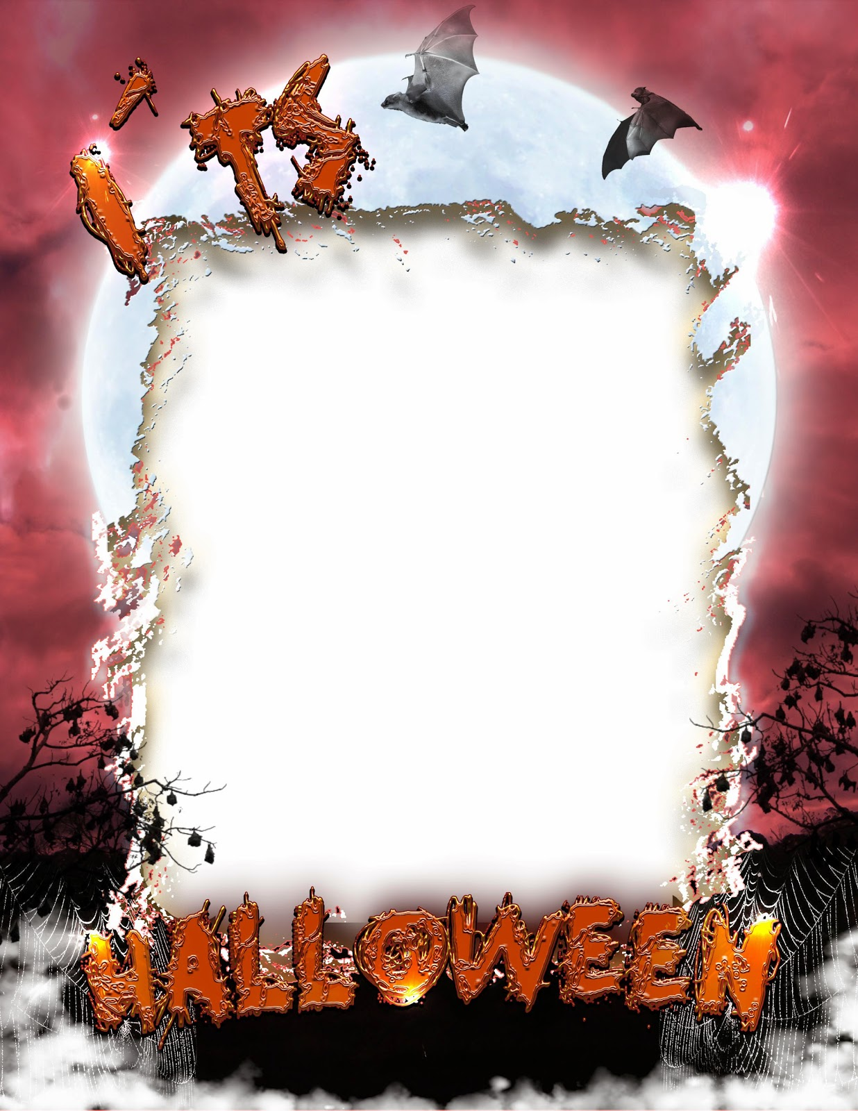 Free Download Frame Halloween Png Images image #31345