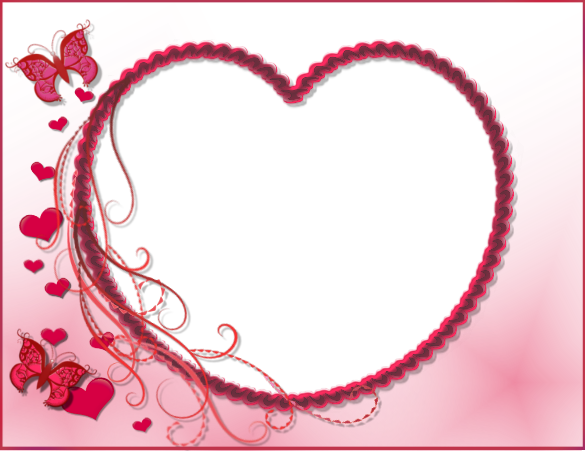 Frame Heart Transparent PNG Pictures - Free Icons and PNG Backgrounds
