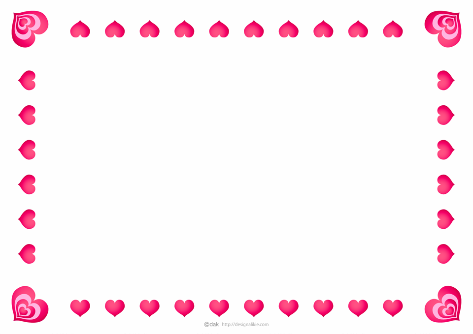 Frame heart png border photo #31002 - Free Icons and PNG Backgrounds