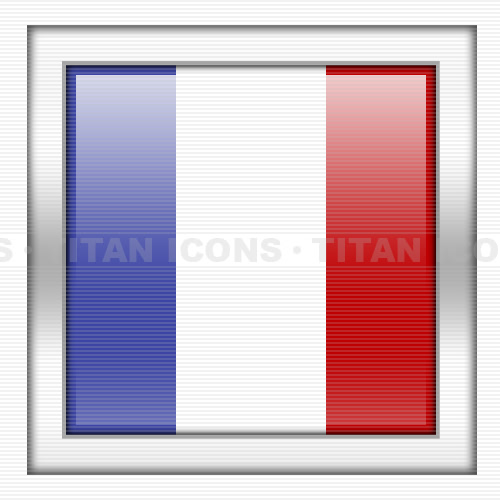France Flag Icon image #18757