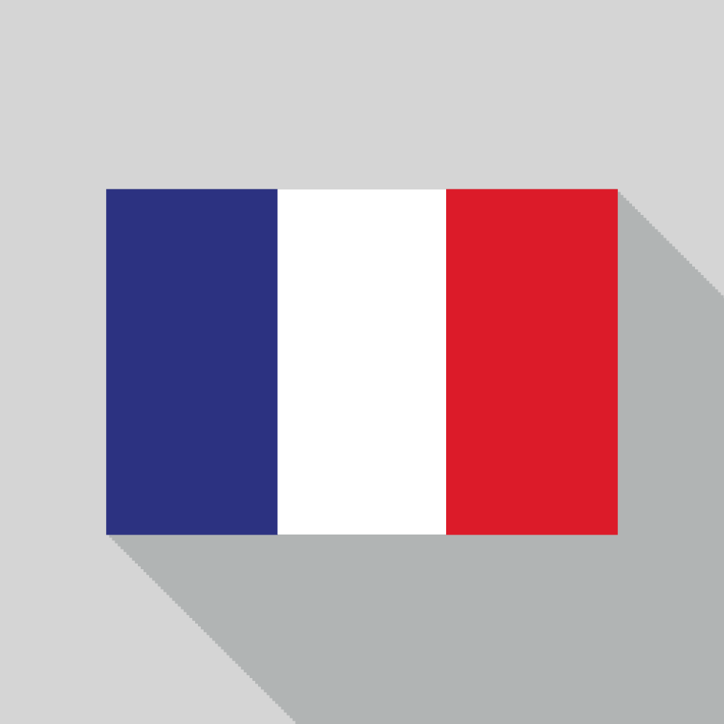 Icon Vector France Flag image #18733