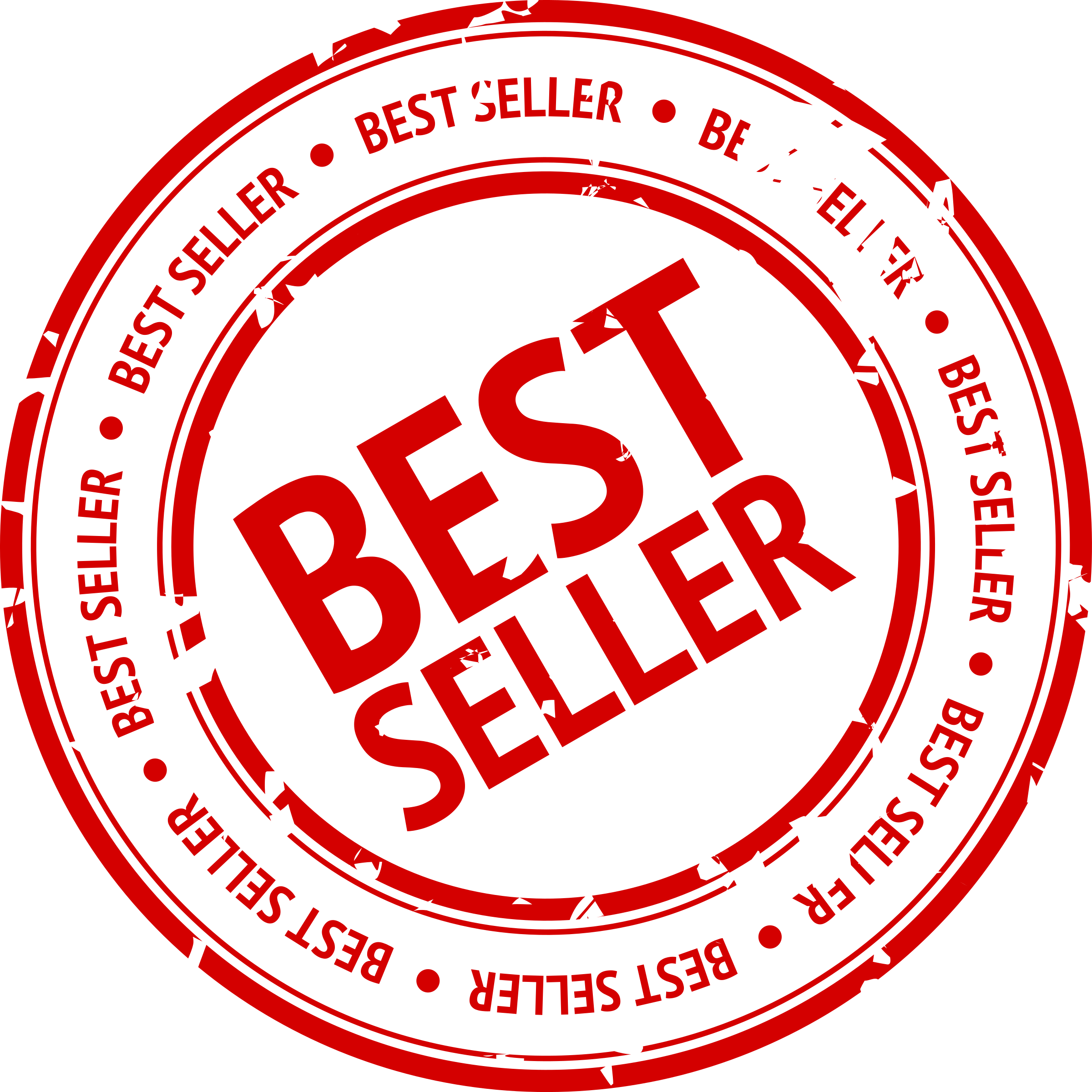 Free Best Seller Stamp Png image #24402