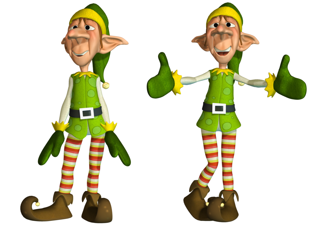 Cartoon ELF Elves Png Images image #45813