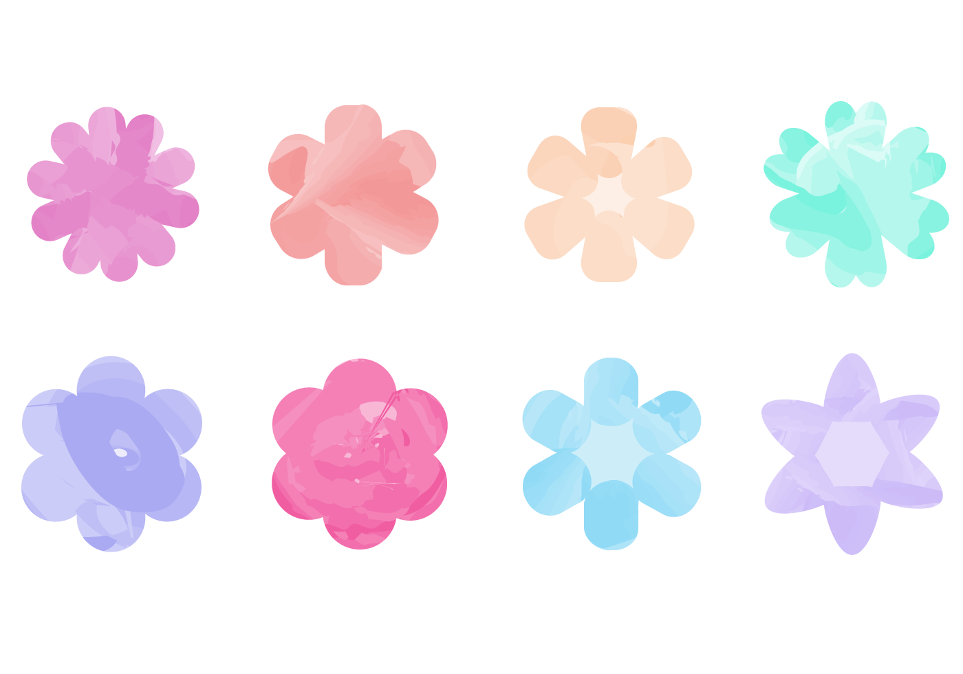 Free Download Floral Flowers Watercolor Simple Images