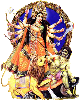 Free Durga Clipart Pictures